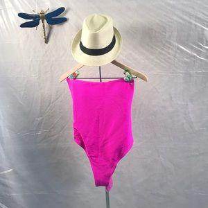 Billabong pink one piece